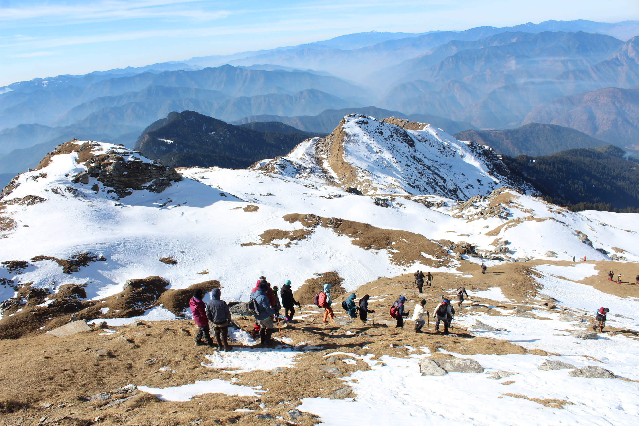Kedarkantha Trek weather