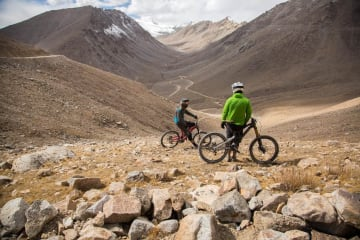 Manali Chandratal Cycle Expedition in Himachal Himalaya.