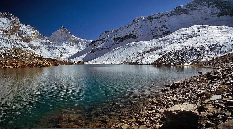 Satopanth tal trek - Top 10 Best treks in Uttarakhand Himalayas