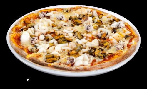 Pizza Alaska Solo 25cm <sup>F,S</sup>
