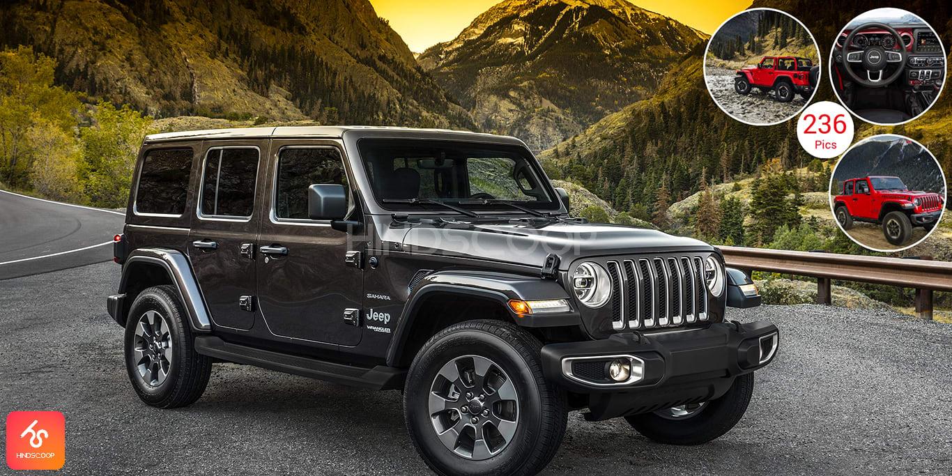 Jeep Wrangler Adventure Vehicle