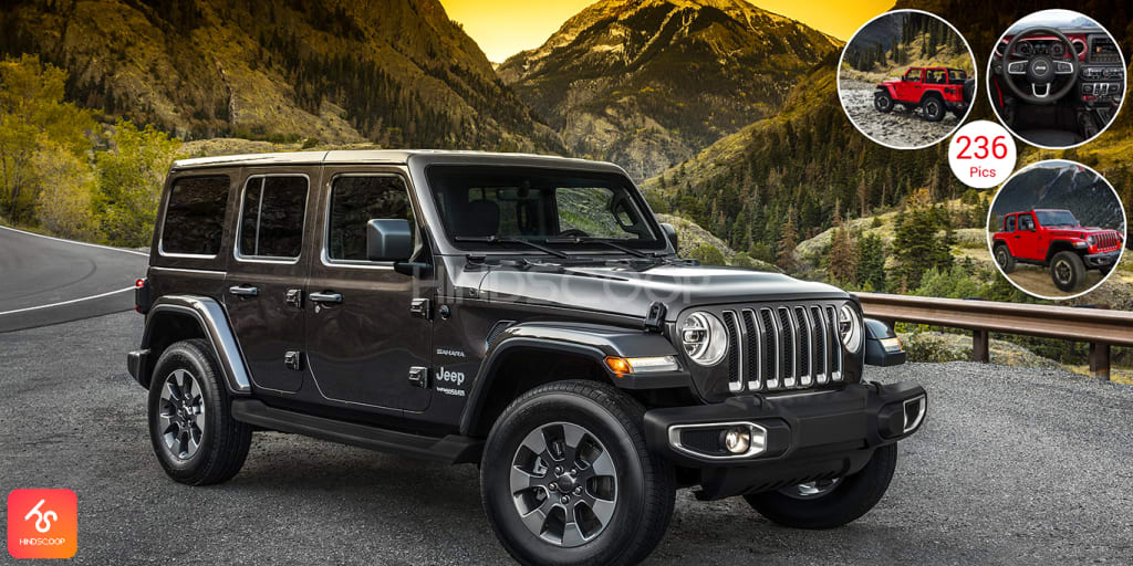 Jeep Wrangler Adventure Vehicle