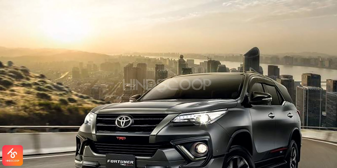 Toyota Fortuner vehicle