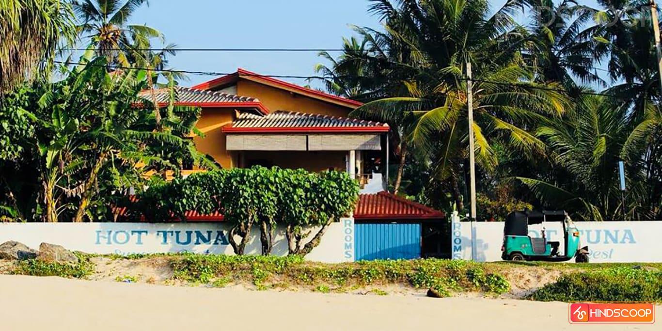 Surfer's Rest in Sri Lanka