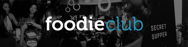 Foodie club banner