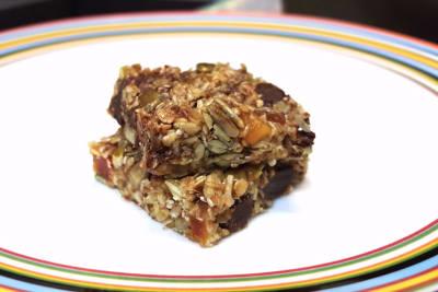 Honey Chocolate Guilt Bars: Recipe