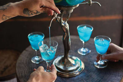 Amp Up Your Meal with a Shareable Cocktail at Blue