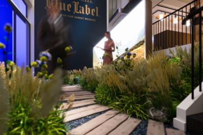 The Debut of the Johnnie Walker Blue Label Bothy