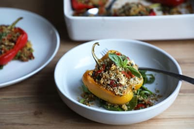 Recipe: Italian-Style Stuffed Peppers