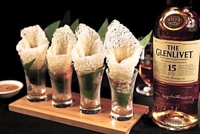 NEW MENU: Shanghai Lo x The Glenlivet