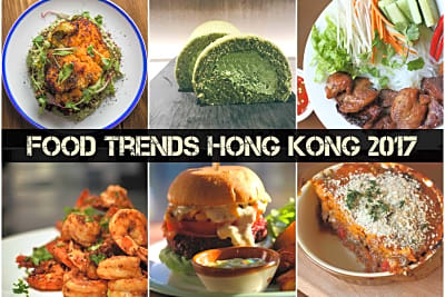 Food Trends Hong Kong 2017
