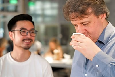 When the Wine Specialist Met the Master Coffee Roaster
