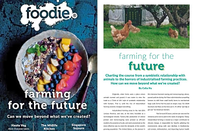 Foodie Magazine March/April 2020 Issue Out Now!