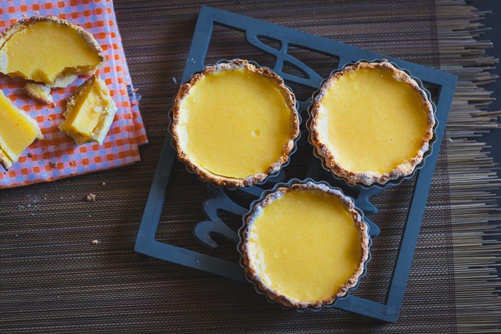 Mango-Lemon Egg Tart Recipe