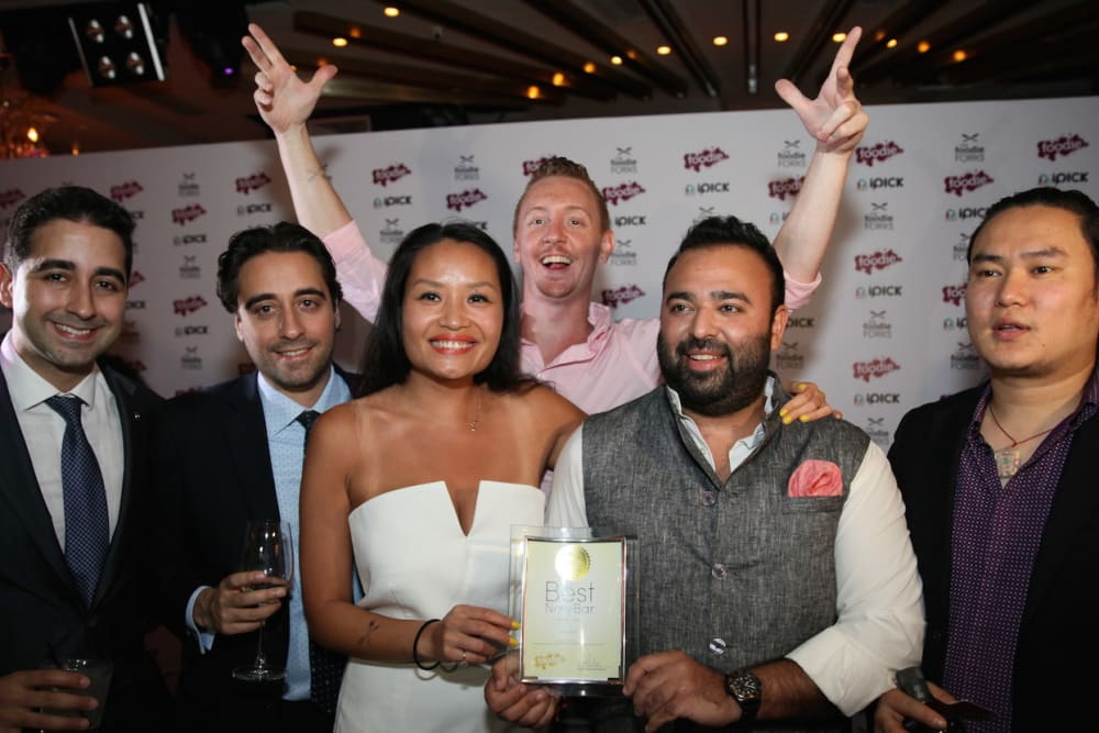 Foodie Forks Awards Party 2015