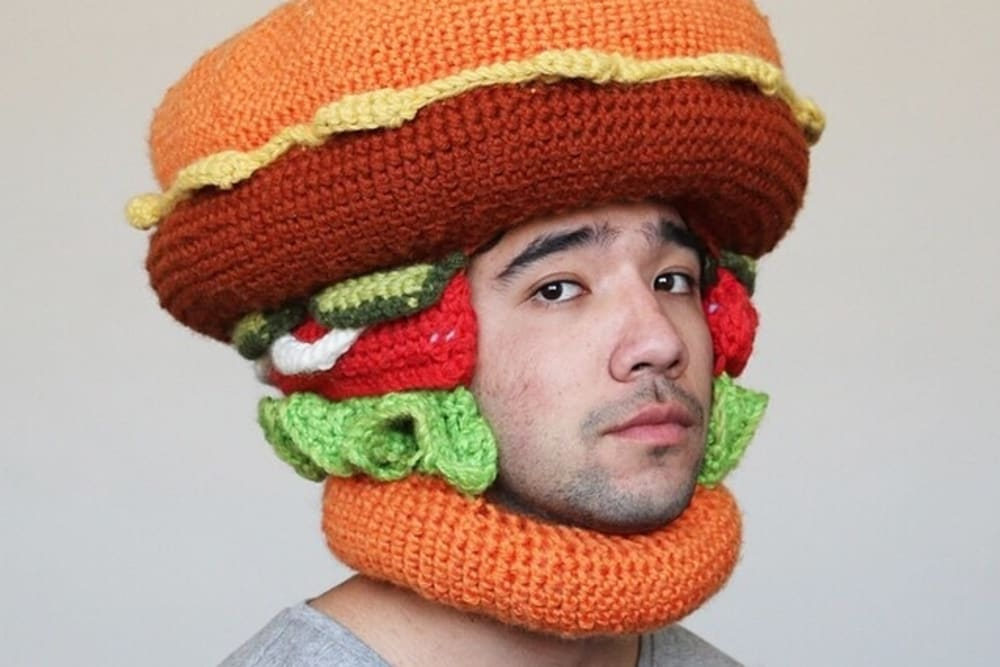 What if You Loved Food so Much, You Wore it on Your Head?