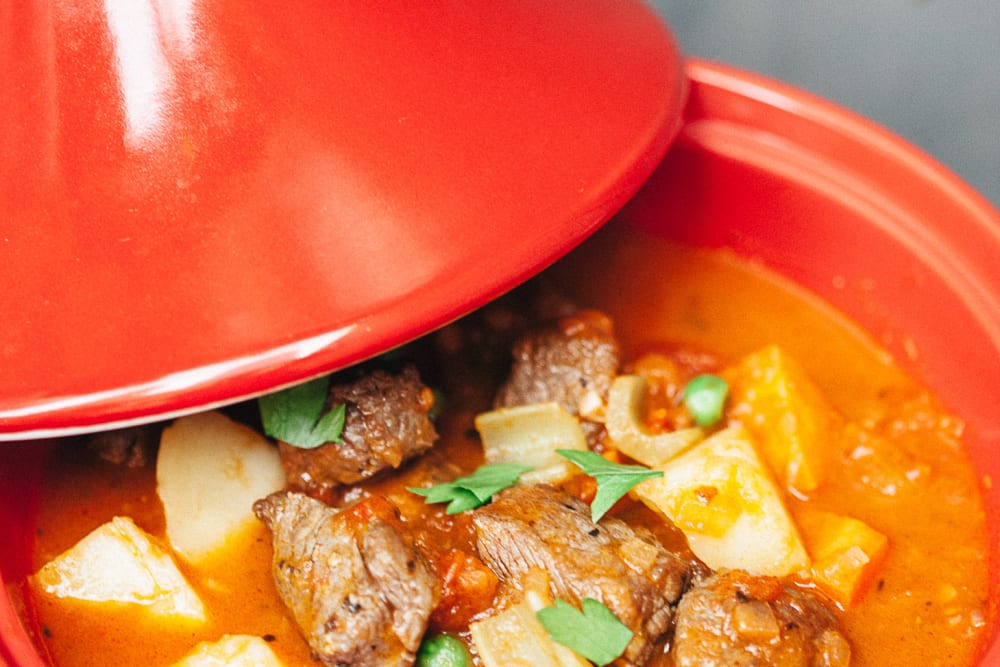 Beef Caldereta Recipe with Mexican Beef