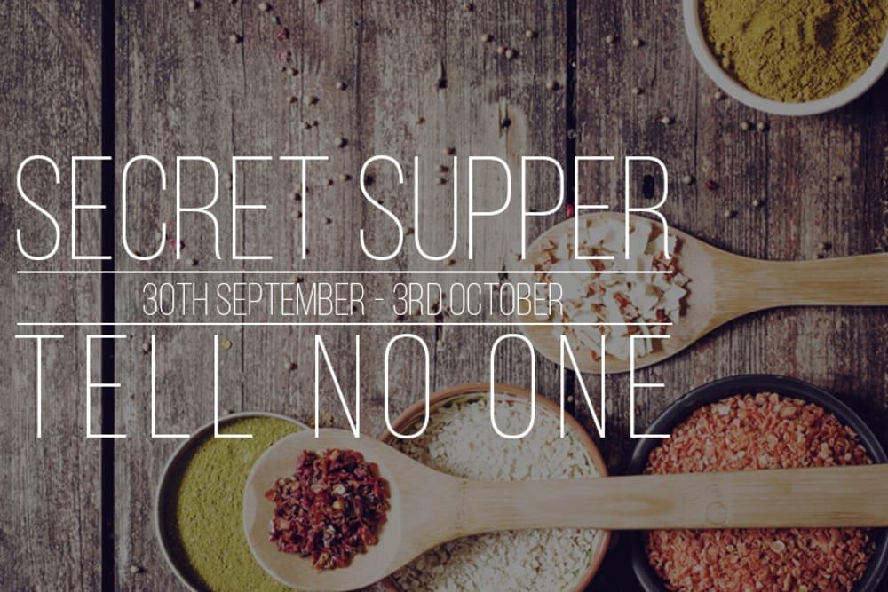 Secret Supper Club: October 2015