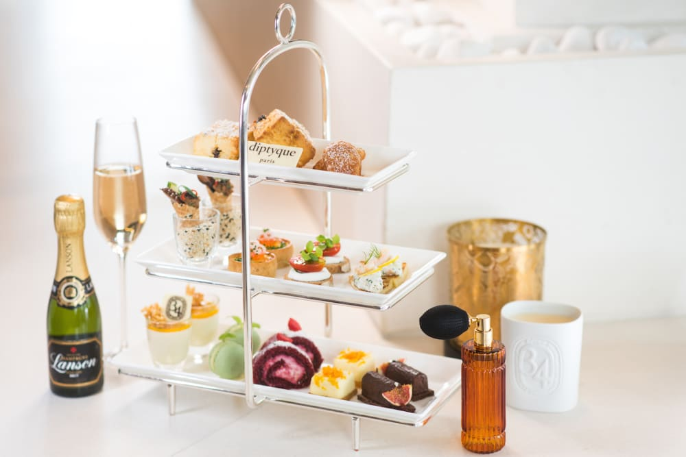 New Diptyque Afternoon Tea at The Upper House