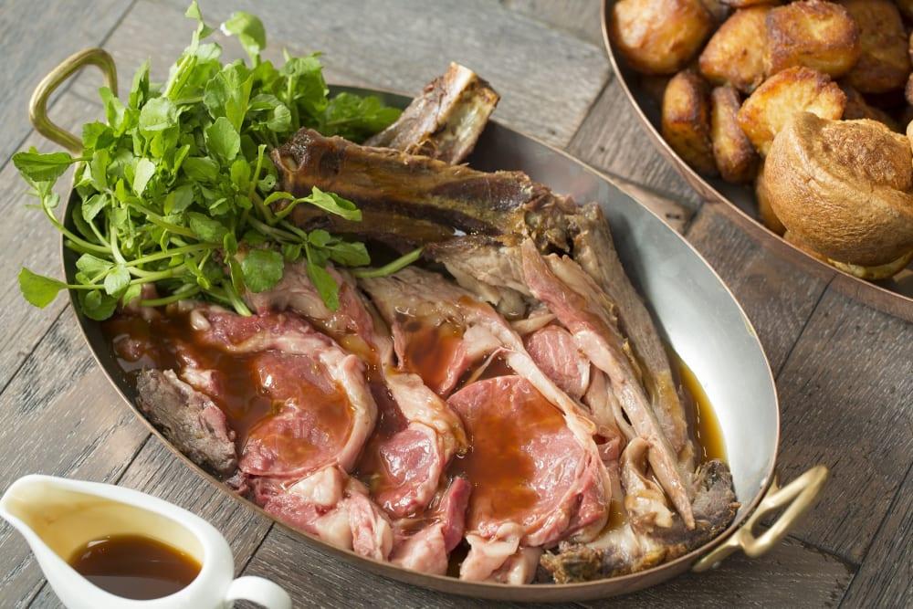 為英國牛羊菜式冠名 贏餐廳現金券