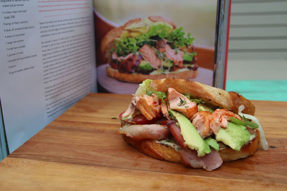 Salmon-on-the-Go with Hot Smoked Salmon and Salmon Bites