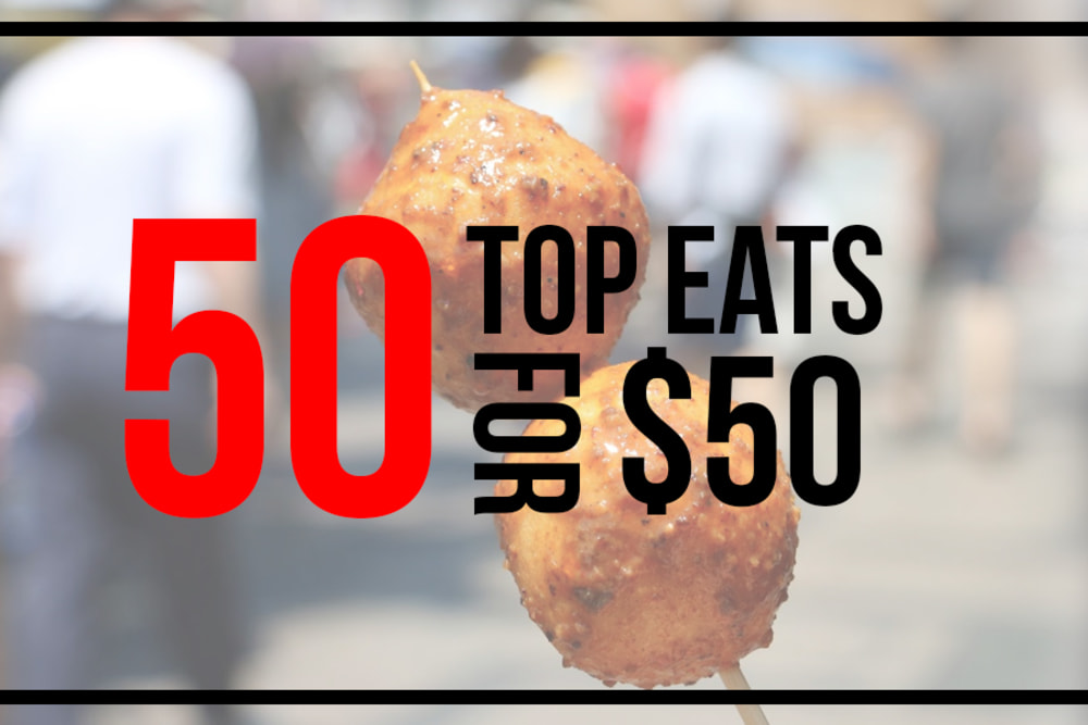 50 Foods You Can Buy in Hong Kong for Under $50