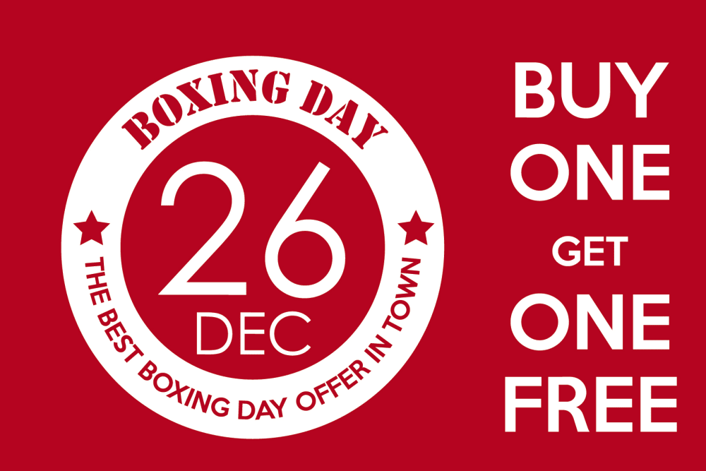 Boxing Day Dining Specials