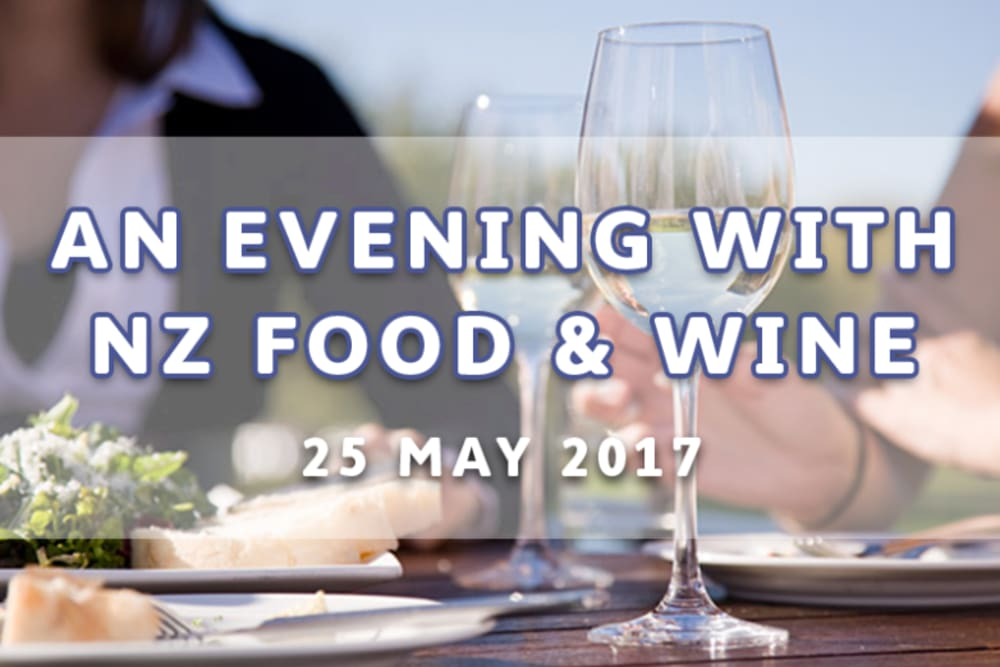 An Evening with NZ Food & Wine