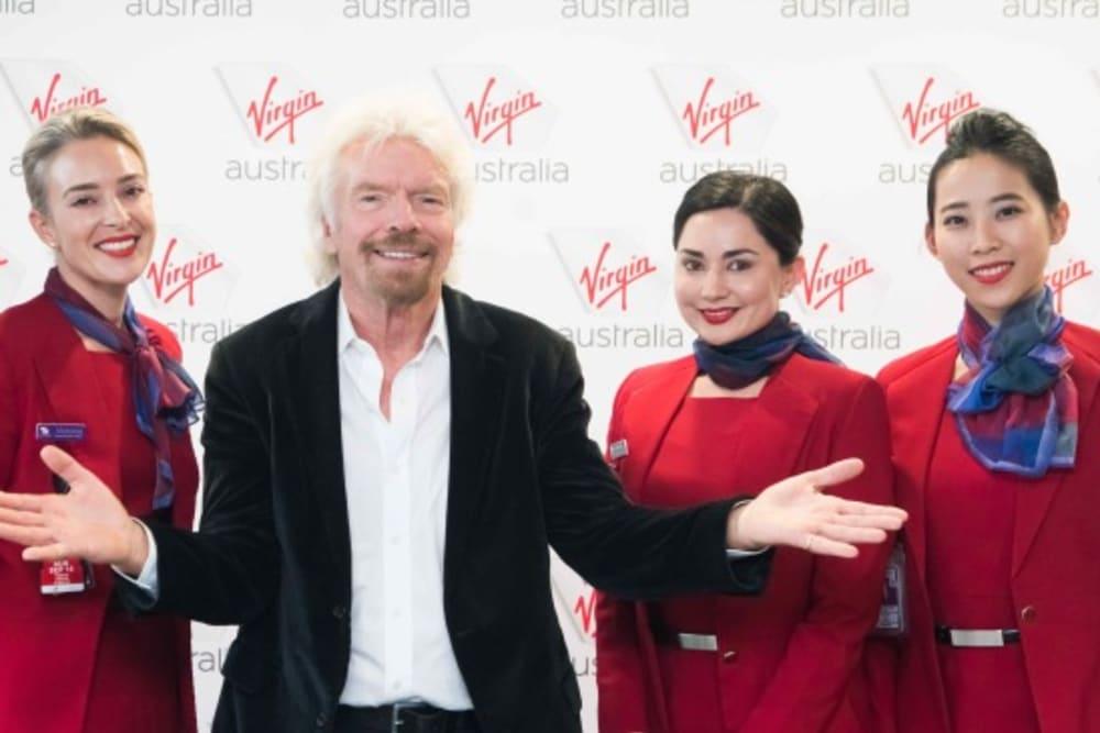 Virgin Australia Lands in Hong Kong