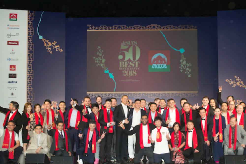 The Announcement: Asia's 50 Best Restaurants 2018