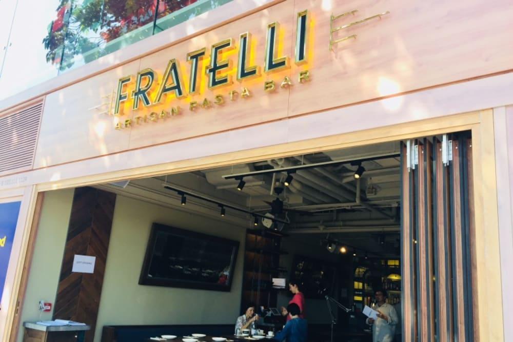 New Restaurant: Fratelli