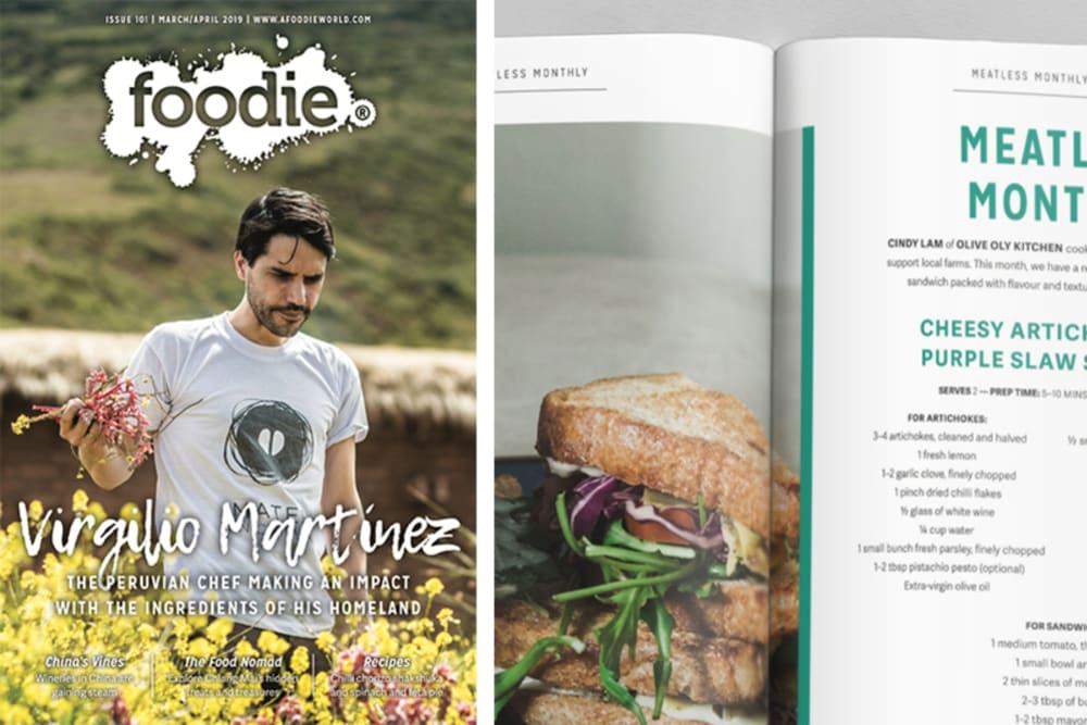 Foodie Magazine March/April 2019 Issue Out Now: Virgilio Martínez