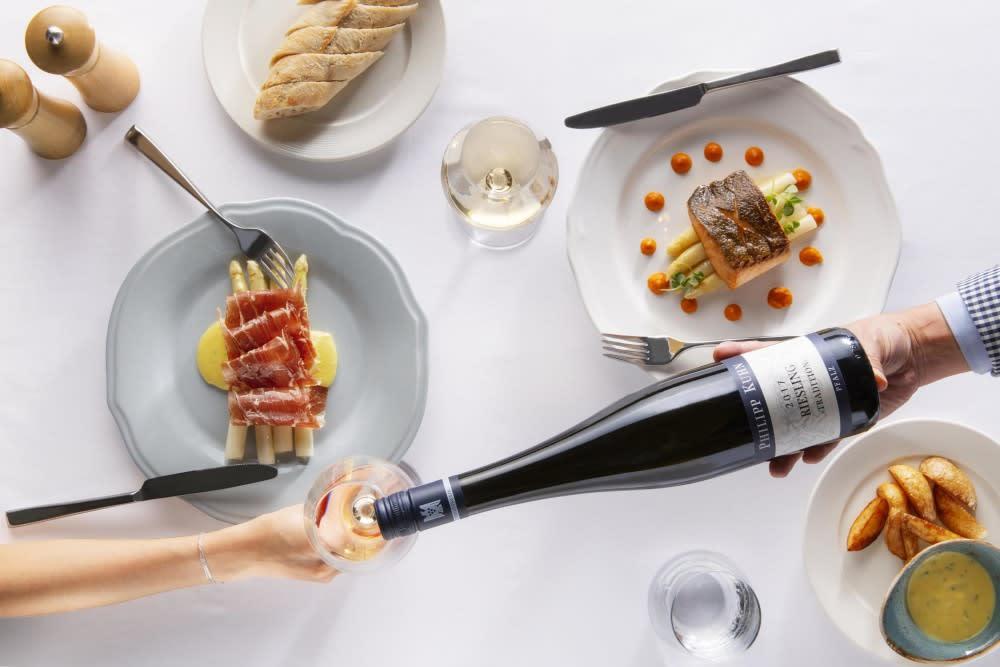 Rewriting Wine 101: When German White Asparagus Meets German Wine
