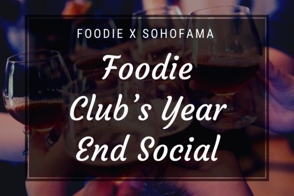 Foodie Club's Year-End Social