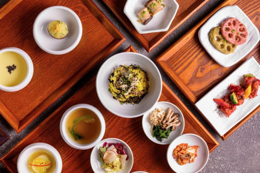 Vegetarian Korean Temple Food at Soil to Soul