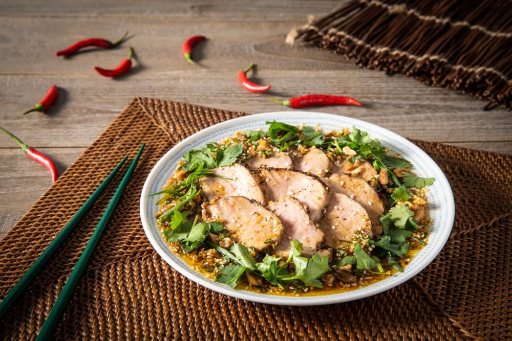 Recipe: Sichuan Slow-Cooked European Pork Tenderloin