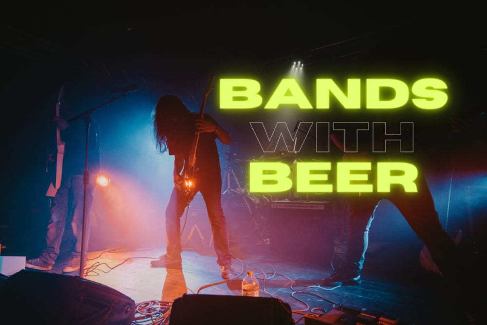 Don't Hop Me Now: 13 Bands with Their Own Beer