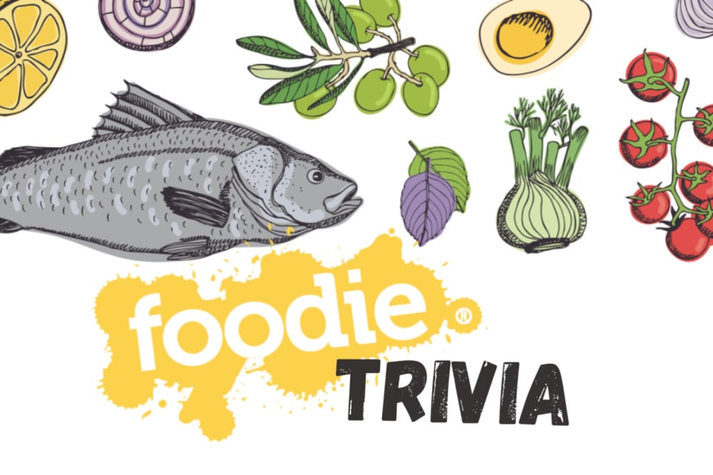 Did You Know...? The Foodie Trivia Edition