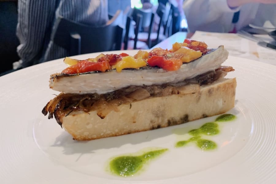 New Fish Bar Menu at A.O.C eat & drink