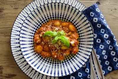 Recipe: Gnocchi with Grandma's Special Tomato Sauce