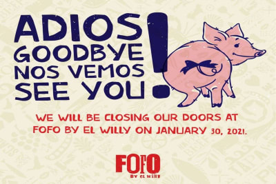 Closing: FoFo by el Willy to Say Adios
