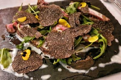DiVino Wine Bar & Restaurant's Black Truffle Menu with Mystery Wine Pairing