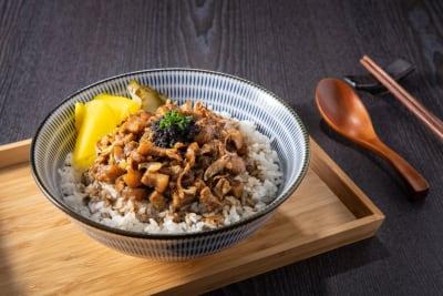 Recipe: Taiwanese Truffle European Pork Belly Rice Bowl (Lu Rou Fan)