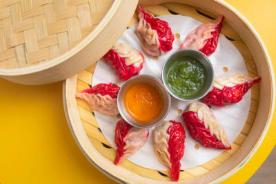 First Look: Momoz Presents Creative, Colourful Momos