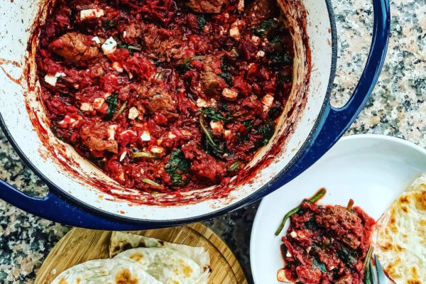 Recipe Video: Spiced Beef and Beetroot Stew