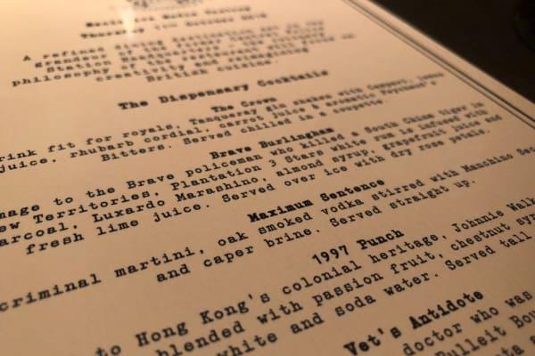 New Restaurant: Statement
