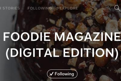 Digital Edition of Foodie on Flipboard!