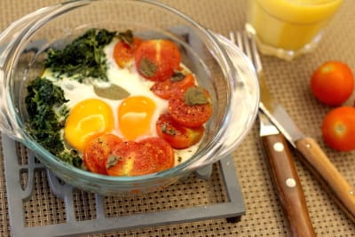 Breakfast in One Pan: Eggs in a Pan