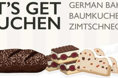 German Bakes from Baumkuchen to Zimtschnecke