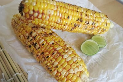 Peri-Peri Grilled Corn on the Cob